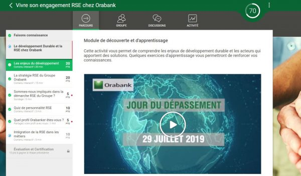 digital learning orabank